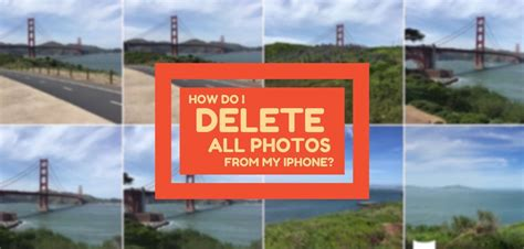 how to delete all photos from iphone how do i delete all photos from my iphone here s the fix