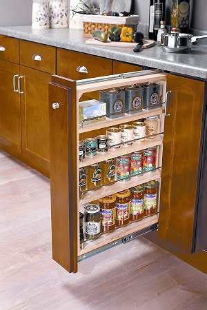 roll out spice racks for kitchen cabinets kitchen cabinet organizers organizing solutions in 9756