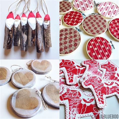 swedish christmas decorations to make the scandinavian tree ornaments