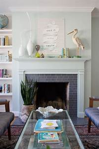 a and easy fireplace makeover lay baby lay