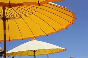 sonnenschirme und co sonnenschutz im garten With französischer balkon mit sonnenschirm asiatisch