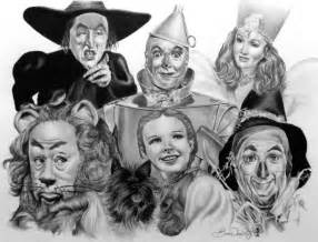 Wizard of Oz Drawing
