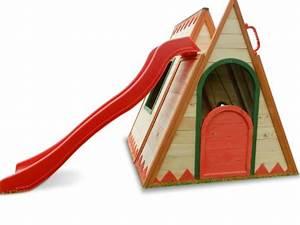 Kletterhaus Mit Rutsche : kinderspielhaus tini spielhaus aus holz mit rutsche spielhaus ~ Orissabook.com Haus und Dekorationen