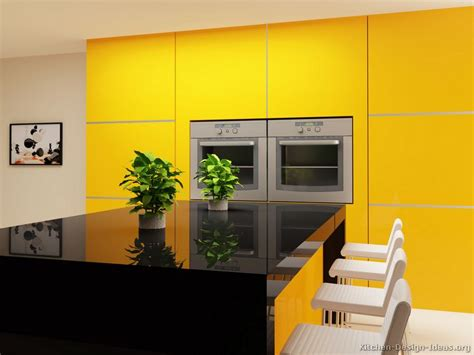yellow and black kitchen ideas pictures of modern yellow kitchens gallery design ideas