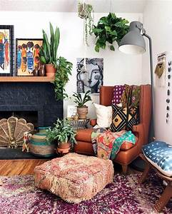 Motivating, Bohemian, Decorating, Ideas, For, Living, Room