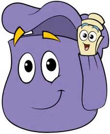 Dora the Explorer Backpack Clip Art