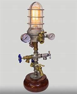 Minaret Steampunk Lamp - American Steampunk Lamp Company