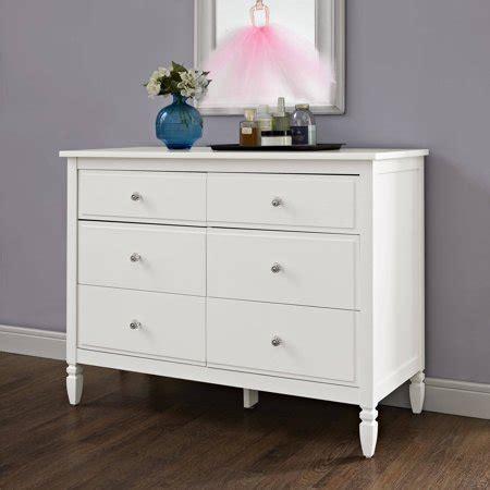 white dresser walmart better homes and gardens lillian 6 drawer dresser white