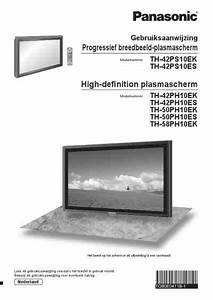 Panasonic Th  Television Download Manual For