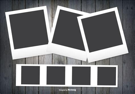 Freepik free vectors, photos and psd freepik online editor edit your freepik templates slidesgo free templates for presentations stories free editable illustrations. Polaroid Frames on Dark Wood Background - Download Free ...