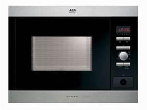 Aeg mc1752em einbau mikrowelle fur hangeschrank ebay for Aeg einbau mikrowelle