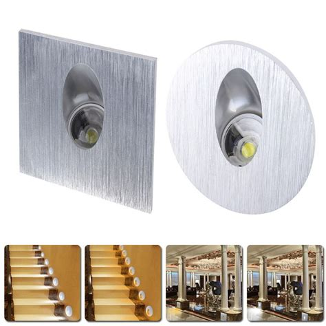 led wall sconces recessed light indoor walkway step stair