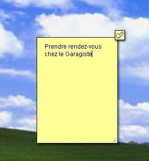 note sur le bureau pc astuces personnaliser le bureau de windows avec des