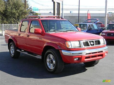 nissan 2000 4x4 2000 aztec red nissan frontier se crew cab 4x4 57695128