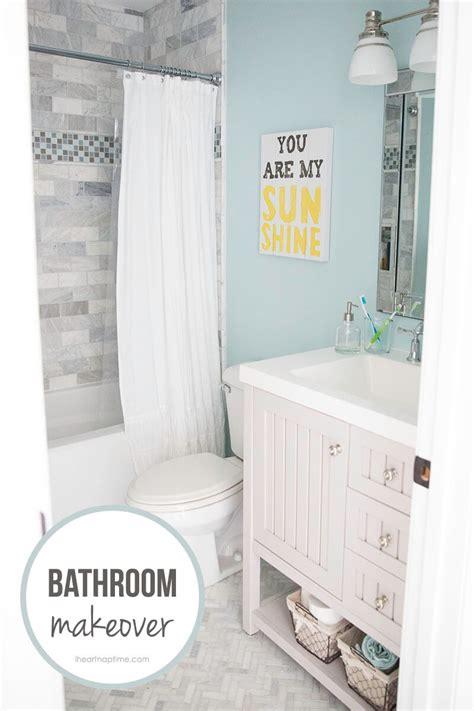 Free Bathroom Makeover by Bathroom Makeover Free Printable I Nap Time