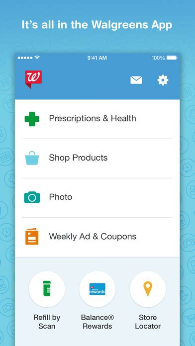 walgreens photo app for android walgreens pharmacy photo coupons and shopping app