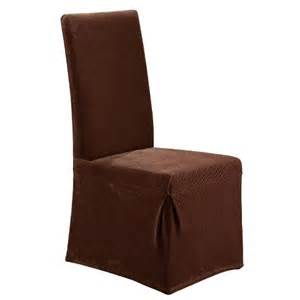 sure fit stretch pique long dining room chair sl target