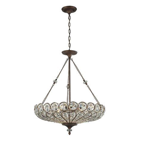 ceiling mount chandelier titan lighting 6 light mocha ceiling mount