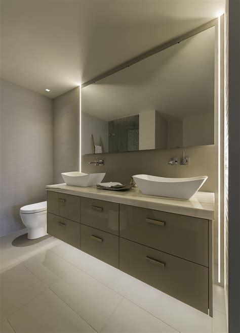 Above Mirror Bathroom Lighting by No Room Above Bathroom Mirror Modern Led Lighting For
