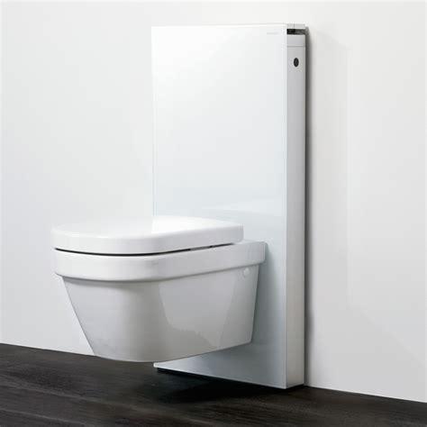wc suspendu geberit geberit panneau monolith pour wc suspendu blanc