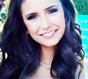 Nina Dobrev Smile GIF Find Share On GIPHY