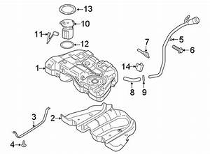 Ford Fusion Filler  Hose  Fuel  Neck  Pipe  Connector