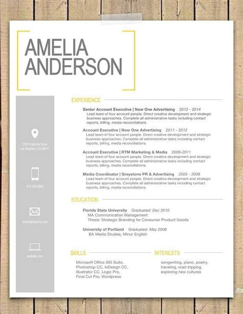 best 25 interior design resume ideas on