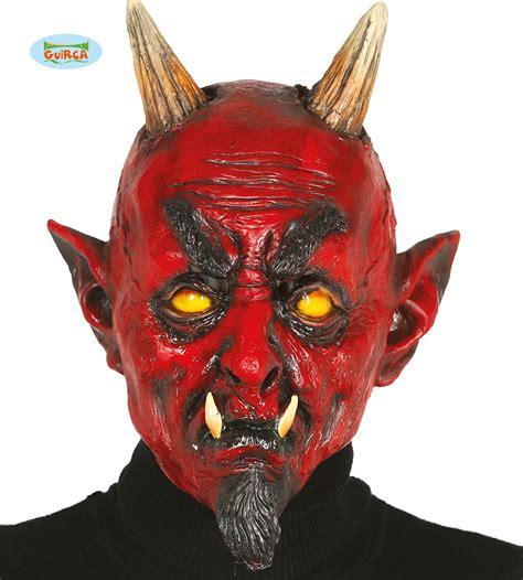 monster daemon maske latex fuer erwachsene kostuem
