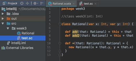 scala intellij worksheet can t find class stack overflow