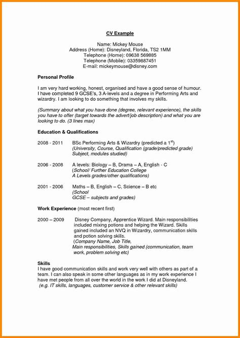 accountant cv templates letter examples template  uk