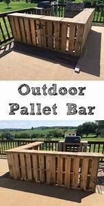 Bar Aus Holzpaletten : diy outdoor pallet bar from 1001 pallets pallets diy projects pinterest ~ Sanjose-hotels-ca.com Haus und Dekorationen