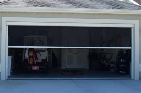 screen garage door garage door screens gallery sentinel retractable screens