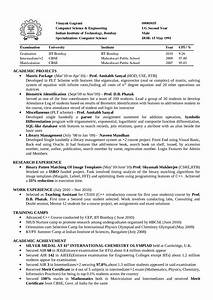 sample resume for computer science faculty resume With sample resume for assistant professor in computer science