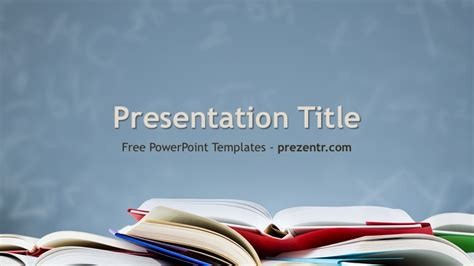 Academic Background Free Academic Powerpoint Template Prezentr Ppt Templates