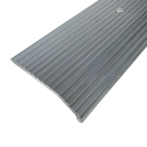 trafficmaster pewter fluted 72 in x 1 1 4 in seam binder