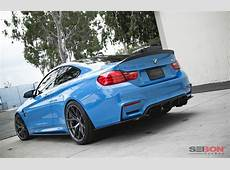 CSTYLE CARBON FIBER REAR SPOILER FOR 20152018 BMW F82 M4