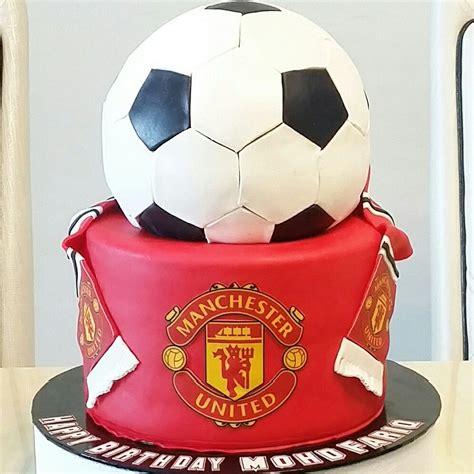 manchester united cake cake designs socce