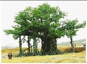 Decorative fake outdoor high imitated artificial banyan