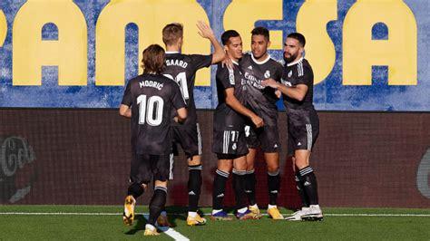 Real Madrid Vs Villarreal / Zvtlqrbzfx1lpm / Los blancos ...