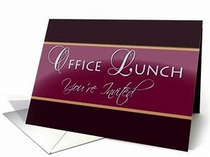 Business Luncheon Invitation Wording Office Lunch Invitation Card 775825