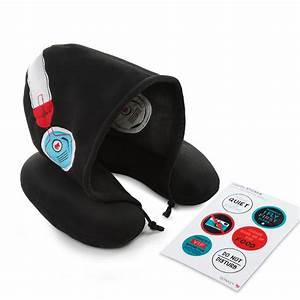 Donkey Products : silent music travel pillow with hood von donkey products ~ Eleganceandgraceweddings.com Haus und Dekorationen