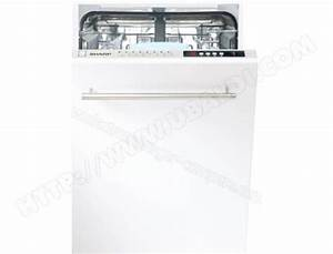 Lave Vaisselle Tout Integrable : sharp qws32i472x lave vaisselle tout integrable 45 cm ~ Nature-et-papiers.com Idées de Décoration