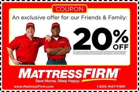 mattress firm coupons mattress firm on quot q6 enjoy this 20