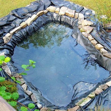 preformed liners gardens pools garden pond liners safe pool membrane reinforced ebay