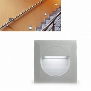 Außentreppen Beleuchtung Led : led wand einbau leuchten 230v ip65 au en treppen beleuchtung 1 3er set rayon 2 ebay ~ Sanjose-hotels-ca.com Haus und Dekorationen