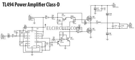 diy  class  tl switching amplifier trong