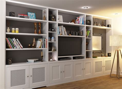 15 Collection Of Tv Bookcase Unit
