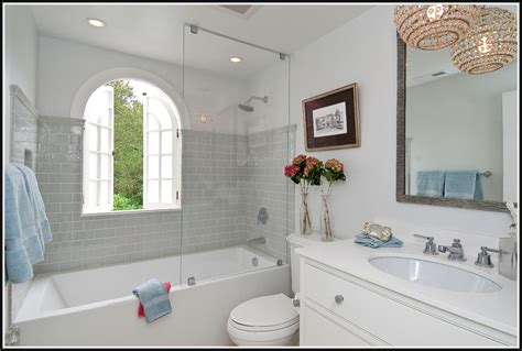light grey subway tile bathroom tiles home design