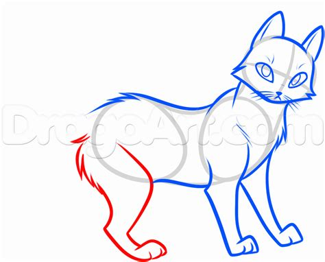 How To Draw Swiftpaw, Step By Step, Characters, Pop