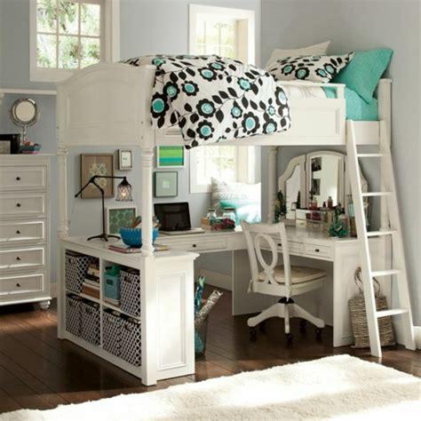 tente 2 chambres 4 places hochbett mit schreibtisch für das kinderzimmer archzine